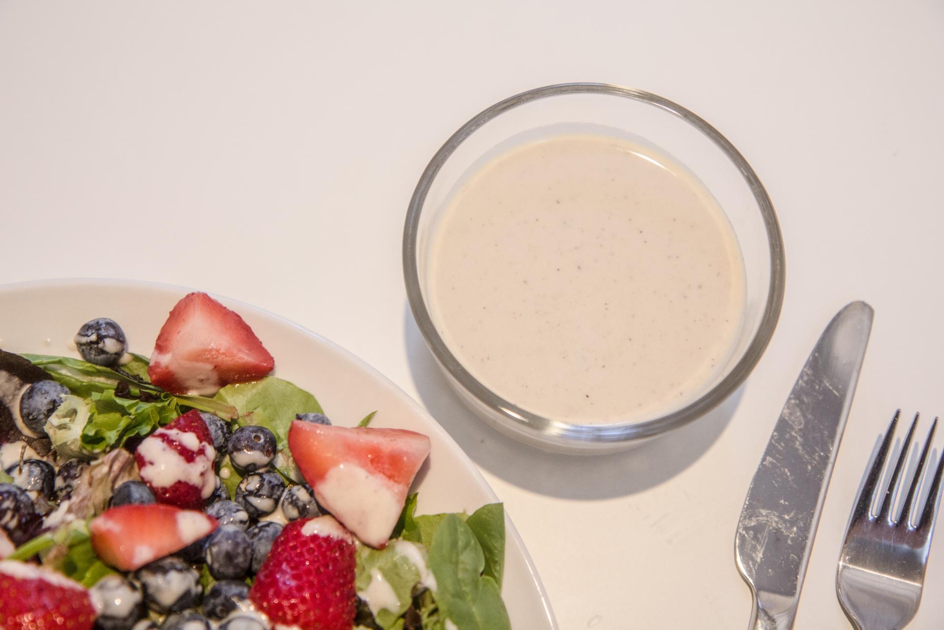 Paleo Vegan Salad with Creamy Tahini Dressing